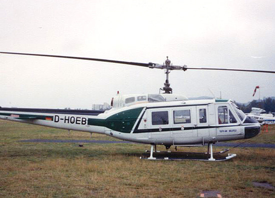 1992 stand die Bell 205