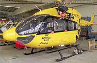 Bereits für die ADAC Luftrettung fertiggestellt: Zwei EC 145
