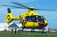 EC 135 der ADAC Luftrettung auf der RETTmobil 2003