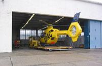 In diesem Hangar verbrachte die D-HEUR ihre Nächte in Aachen