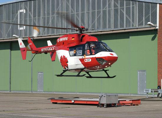 Der Christoph 52 flog bis zum Jahr 2004 auch während der Nachtstunden.