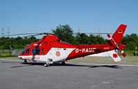 Neu: Hubschrauber Typ Agusta A 109 nun auch in polnischer Luftrettung.