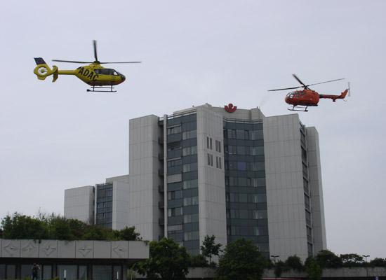 Fly-In-Fly-Out in Ludwigshafen: Betreiberwechsel vor sehenswerter Kulisse in der Stadt am Rhein