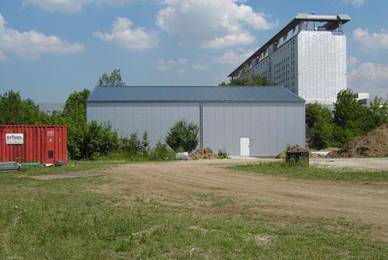 Der neue Hangar