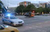 """Der """"SAR 71"""" bei einem Einsatz in Hamburg"""