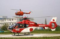 Übergabe des LRZ Magdeburg. Am 21.April 2006 übernahm die Deutsche Rettungsflugwacht e.V. die Station vom BMI/BBK