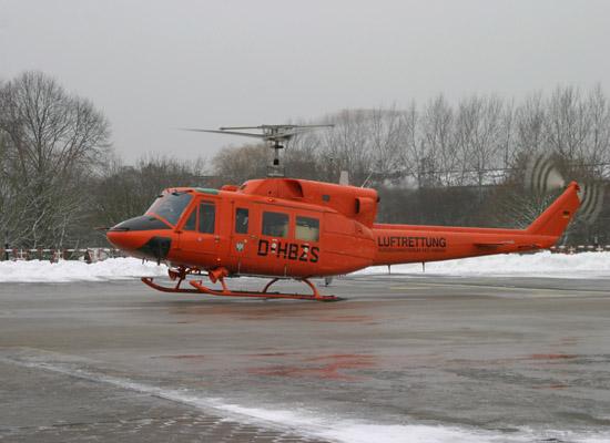"""Der erste Einsatz für """"Christoph 29"""" am 19. Januar 2006"""