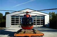 Hubschrauber Christoph München des HDM in Großhadern