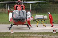 Archivbild: Hubschrauber Christoph München des HDM in Großhadern