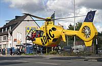 Archivbild: Rettungshubschrauber Christoph 8 im Einsatz
