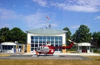 Bis 2004 im Einsatz in Greifswald: Die BO 105 CBS