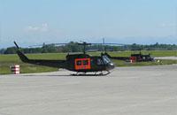 Archivbild: Hubschrauber der SAR-Bereitschaft in Penzing beim LTG 61