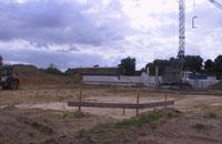 Die Baustelle in Perleberg