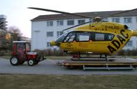 Derzeit wird in Mainz eine EC 145 eingesetzt