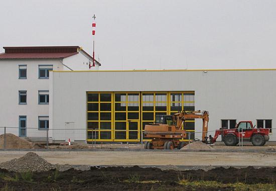 Zukünftiges Luftrettungszentrum (LRZ) in Dölzig