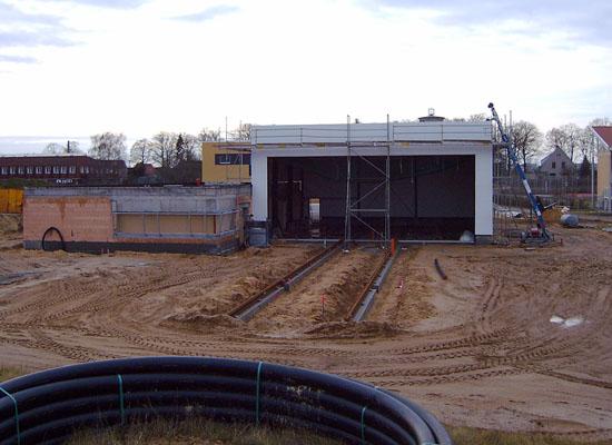 Der Hangar am 09. Januar
