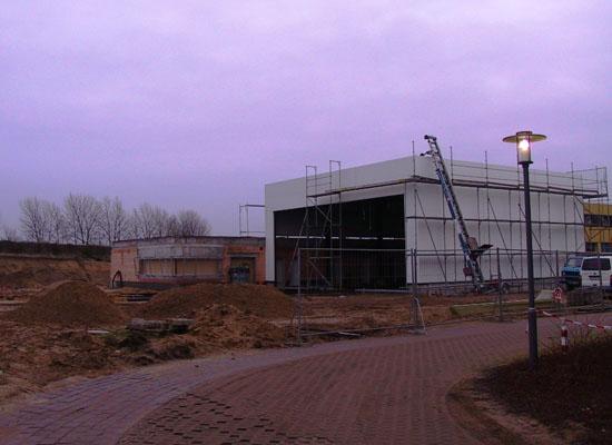 Baufortschritt in Perleberg (11.01.)