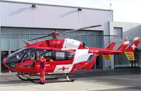 Archivfoto eines Rettungshelikopters der Rega