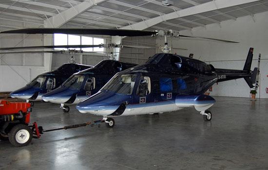Mit ihrer Eleganz haben die Bell 222 in der HSD-Luftrettung Bekanntheit erlangt