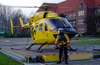 Christoph 26 ist zur Wasser- und Windenrettung ausgestattet (Archivaufnahme aus 12/2004)