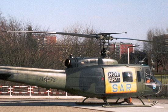 Archivaufnahme des SAR Hamburg 71 an seinem Standort