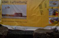 Plakat zum Bauvorhaben