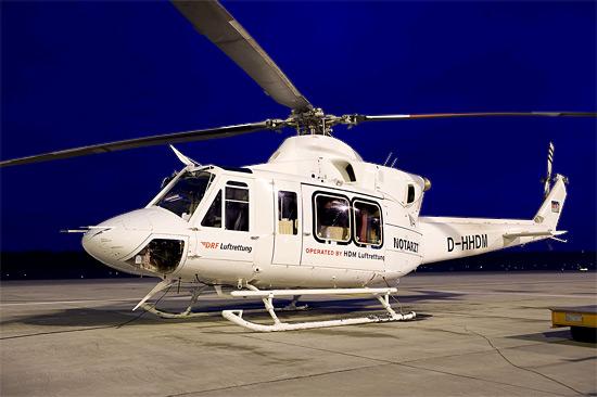 Der Hubschrauber war mehrere Jahre in Italien und ist nun nach Generalüberholung als Christoph Nürnberg für das Team DRF in Deutschland