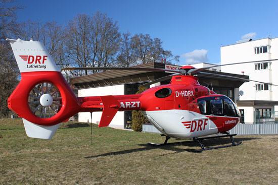 """Die neue """"D-HDRX"""" in Zwickau auf dem Flugbetriebsgelände"""