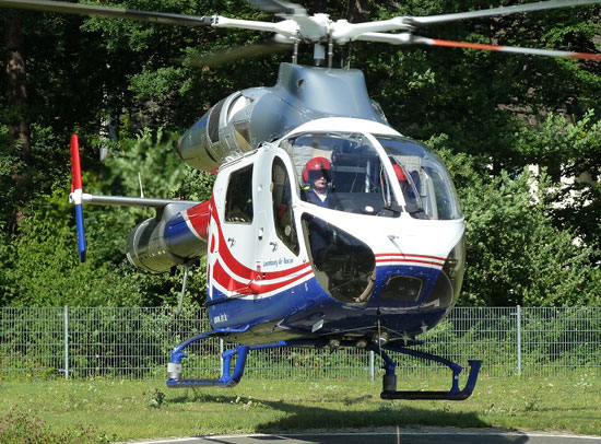 MD 902 der Luxembourg Air Rescue