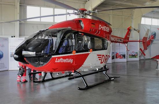 """Die neue EC 145 """"D-HDSB"""""""