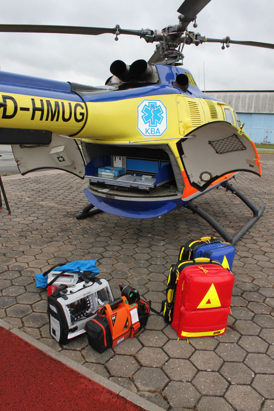 Medizinisches Equipment vom Kuno SH-01