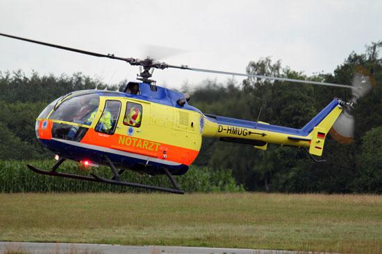 """""""Kuno SH-01"""" kurz vor der Landung am Tag des FlyIn (15.07.2011)"""