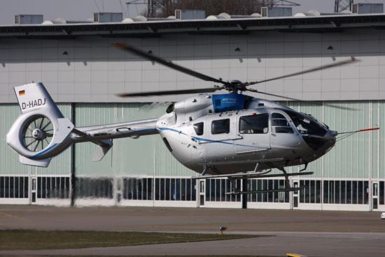 EC 145 T2, hier eine Testmaschine des Herstellers Eurocopter