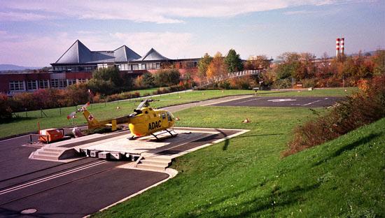 Im August 2002 flog die BO 105 letztmalig in Bayreuth ...