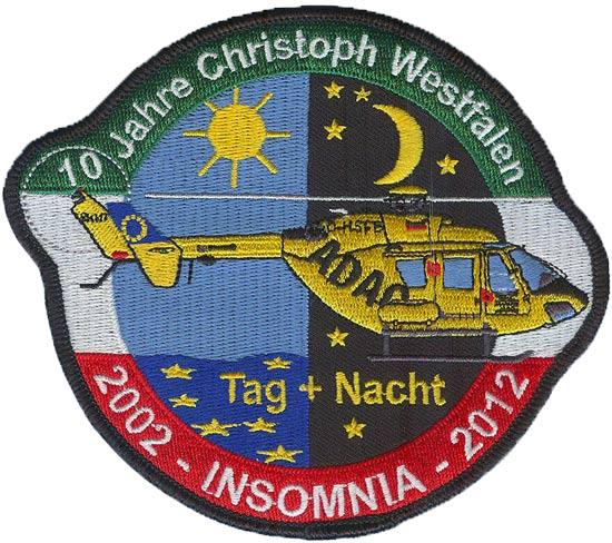 Jubiläumsaufnäher Christoph Westfalen