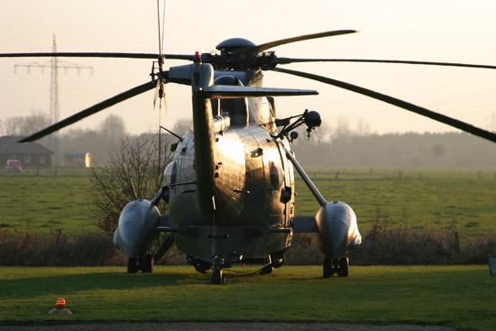 """21 Hubschrauber des Typs """"Sea King"""" sollen von Kiel nach Nordholz verlegt werden"""
