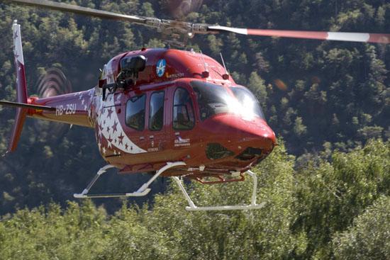 Die neue Bell 429 der Air Zermatt
