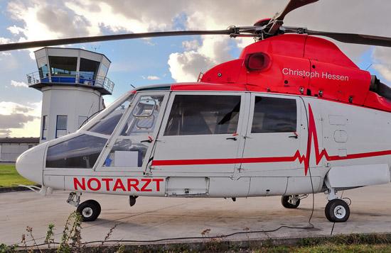 Die Stationierung beider Hubschrauber ist derzeit am Flugplatz Reichelsheim