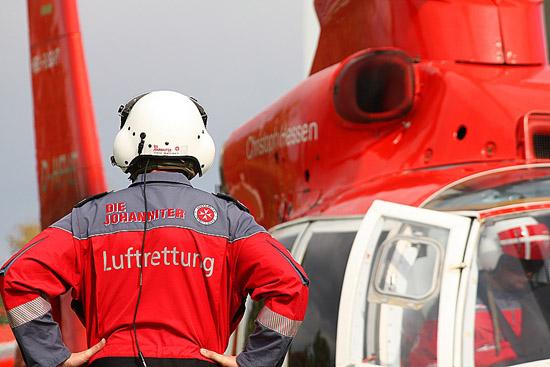 """Der Anbieter """"Heli-Flight"""" kooperiert bereits seit Jahren mit der """"Johanniter-Unfall-Hilfe"""""""