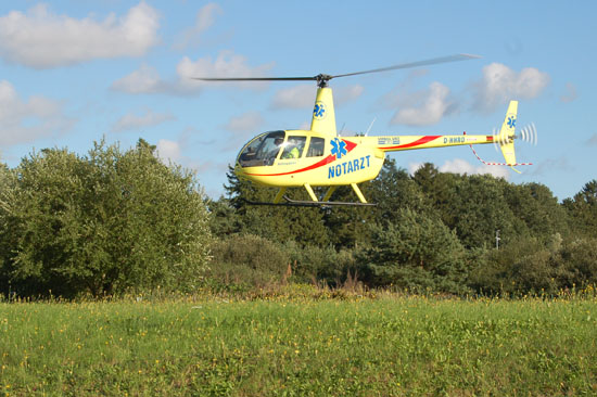 """Landet in der Uckermark demnächst ein NEH? Das Foto zeigt den in Kessin (Landkreis Bad Doberan/MVP) stationierten NEH """"Rettung Doberan 64/82-1"""""""
