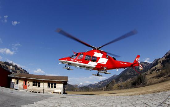 """Die Agusta Westland AW109SP """"Da Vinci"""" kann weiterhin zu Windeneinsätzen alarmiert werden"""