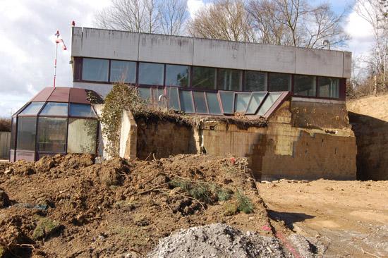 Am 9. März 2013 waren die Erdaushubarbeiten bereits weit fortgeschritten