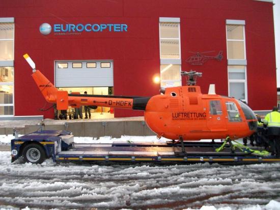 ... und hier bei der Abholung bei Eurocopter Training rund 17-18 Jahre nach dem obigen Aufnahmezeitpunkt.
