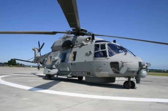 Marinehubschrauber der Zukunft? NH-90 NFH der ersten Generation von den italienischen Seeluftstreitkräften