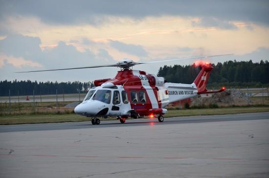 Angetrieben wird der Helikopter von 2 Triebwerken Pratt & Whitney Canada PT6C-67C mit einer Leistung von jeweils 1.252 kW