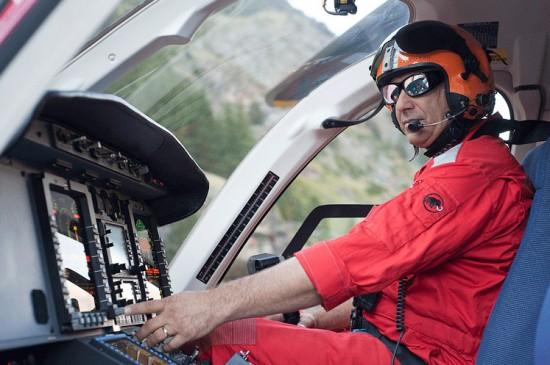 Die Brille eignet sich nicht nur in der Luftrettung, so haben z.B. bereits die Schweizerischen Bundesbahnen SBB ihr Interesse bekundet