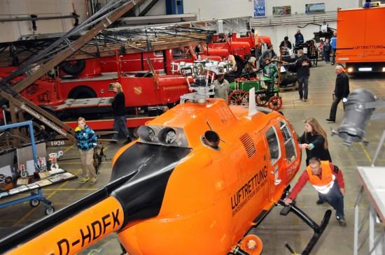 Neues Zuhause für die BO 105 C: das Technikmuseum Kassel
