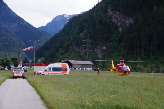 Nördlich von Mayrhofen befindet sich der Landeplatz. Geht es nach Roy Knaus, soll er um einen Heli-Stützpunkt erweitert werden.