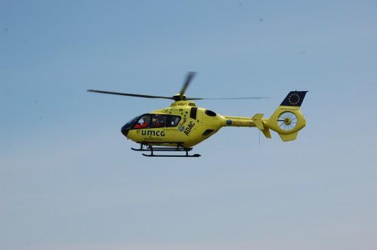 """Auch der niederländische RTH """"Lifeliner Europa 4"""" bewirbt den Euronotruf 112 an prominenter Stelle, ..."""