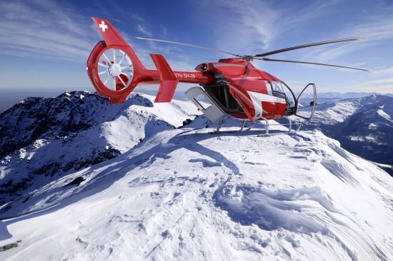 Gipfellandungen stellen für den SKYe SH09 kein Problem dar